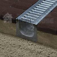 Лоток бетоный 120 серый 500*140*120