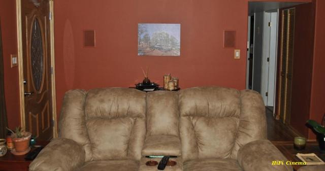 Install in Wall Surround Speaker HiFi Cinema