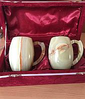 Кружки из Оникса натуральный камень