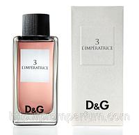 Женская оригинальная туалетная вода Dolce&Gabbana L'Imperatrice №3, 100ml NNR ORGAP /57-04