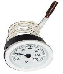 Термометр круглый SVT 52 P 0-120° белый LT144 с капиляром 1м
