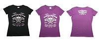 Спортивная женская футболка HEARTBREAKE Power System черный