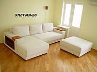 Диван угловой дизайнерский под заказ Элегия-26 (Мебель-Плюс TM)