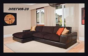 Диван угловой Элегия-28 (Мебель-Плюс TM)