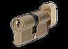 Цилиндр MVM P6E30/30T-ключ/тумблер SB-матовая латунь