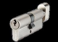 Цилиндр MVM P6E35/35T-ключ/тумблер SN-матовый никель, фото 1