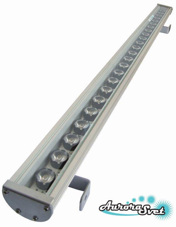 Линейный светодиодный светильник C-72-24. Линейный LED светильник. Светодиодный линейный светильник.