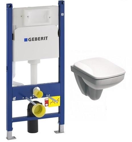 Набір Geberit Duofix 3в1, унітаз Kolo Nova Pro Rimfree,  сидіння 458.126.00.1+M39 018