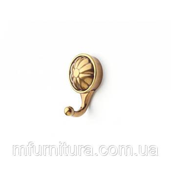 Гачок для одягу W 105 / антична бронза / ДС-Фурнітура