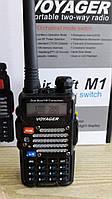 Voyager Air Soft M1 + гарнитура, духдиапазонная радиостанция