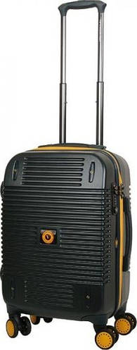 Малогабаритный чемодан Vip Collection Bagamas 20 Green BGS.20.green на 4-х колесах 46 л, темно-зеленый