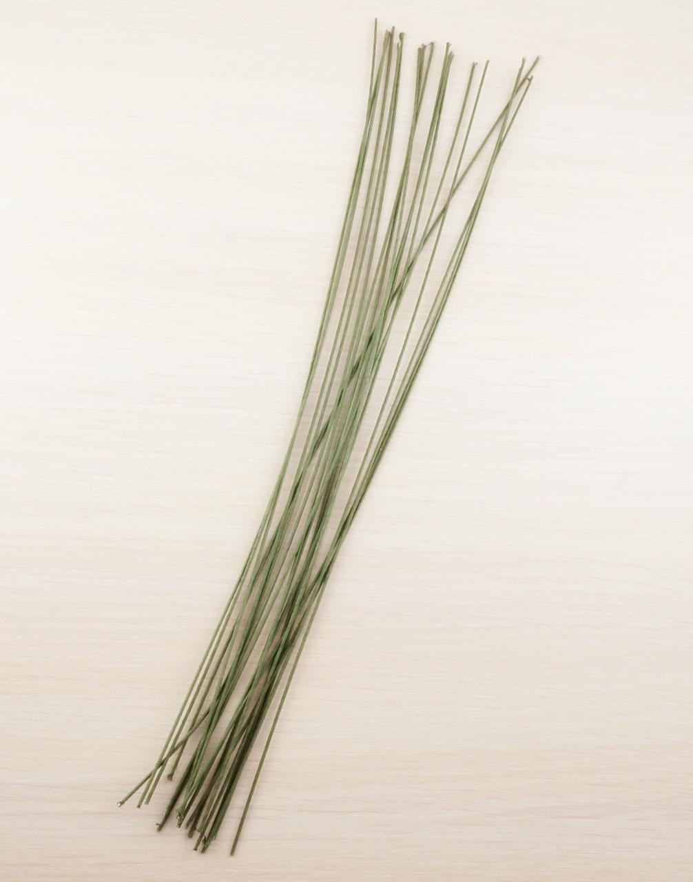 Флористическая проволока 365 мм зелёная (5 шт) (товар при заказе от 200 грн) - магазин-студия Цацки в Чернигове