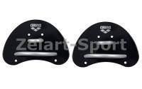 Лопатки кистевые для плавания Arena Elite Finger Paddle AR-95251(TRP,резина, р-р S,черно-серые)
