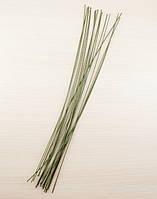 Флористическая проволока 365 мм зелёная (5 шт)