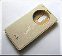 Золотистый чехол Quick Circle case для смартфона LG G3 D855 D850, фото 1