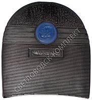 Набойка резиновая мужская MAGNA (Китай), т. 7.2 мм, р.76, цв. черный (синяя вставка)