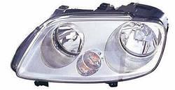 Фара L VW Caddy (2004-2010) TYC 20-0760-252