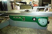 Форматный станок бу Lazzari Tema 3200 (Италия) для распиловки ДСП, в комплекте аспирационная установка, 2000г