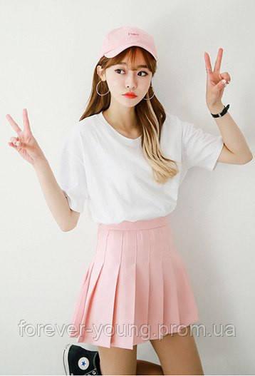 bf444fff8d3 Теннисная юбка (шорты) розовая