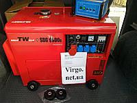 Дизельный генератор KrafTWele 9.8 кВт ATS/AVR