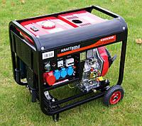 Дизель генератор кВт 8,4 KRAFT&DELE KWD6500E
