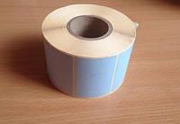 58х40 Термоэтикетка термо ЭКО (1000шт) голубая