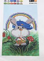 Схема для вышивки 15*21 Формат А5 Кролик