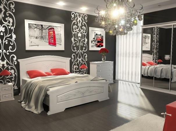 недорогие мдф кровати купить в Украинском Стандарте тел. 057-760-30-44\