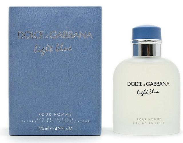 Мужская оригинальная туалетная вода Light Blue pour Homme Dolce&Gabbana, 125 ml NNR ORGAP/0-44