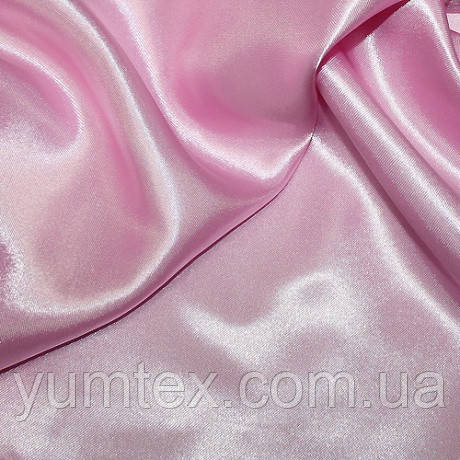 Атлас с блеском, цвет св. розовый