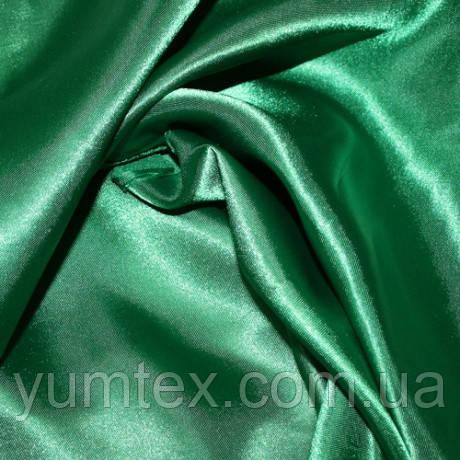 Атлас с блеском, цвет зеленый
