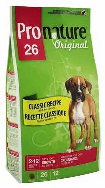 Корм для щенков всех пород Pronature Original All Breeds Puppy