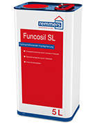 Гидрофобизирующая пропитка на основе силана/силоксана FUNCOSIL SL для известняка