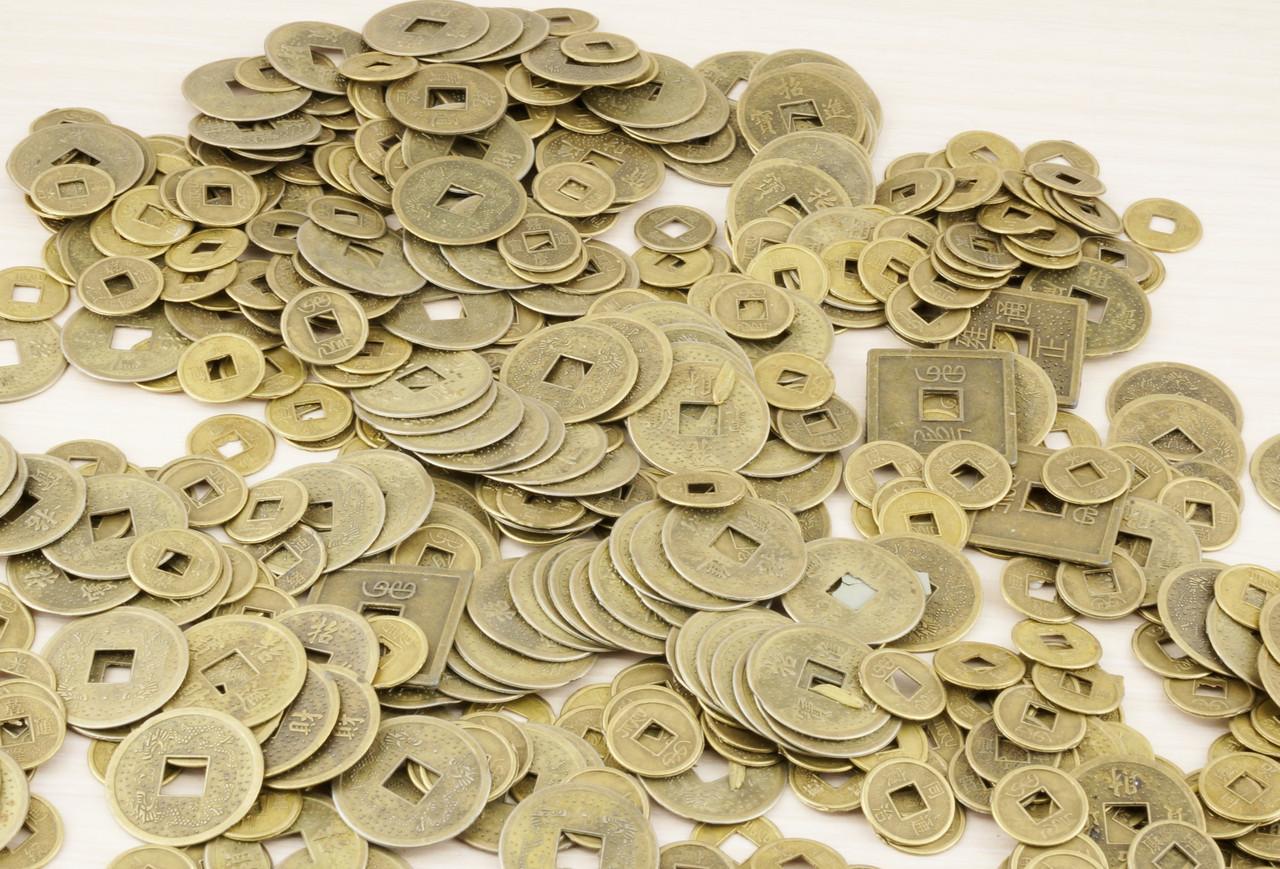 Монетки микс (10 штук) - магазин-студия Цацки в Чернигове