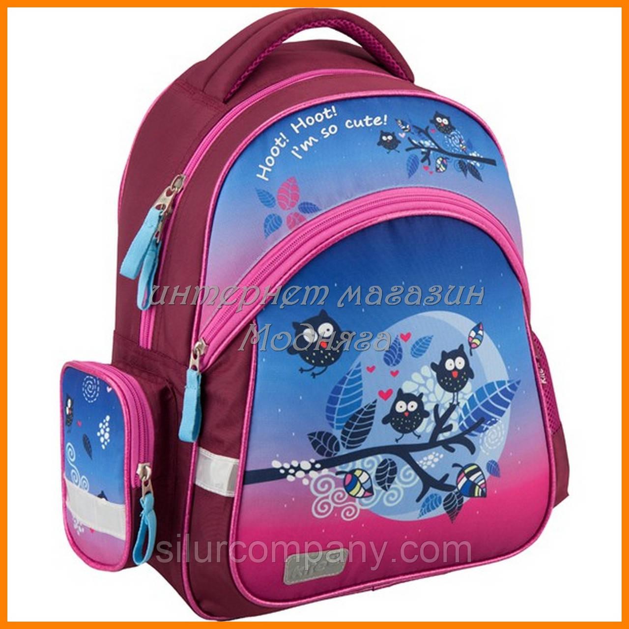 fe5ebf253c28 детский ранец для девочки сова рюкзак Kite Owls 521 арт K16