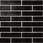 Плитка голден тайл брикстайл стрэнд черный 60*250 golden tile brickstyle strand 08С020 для гостинной,хола.