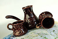Турка с чашками Мельница.