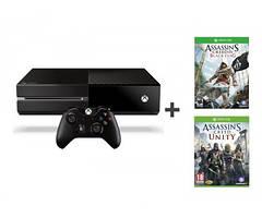 Игровая консоль Microsoft Xbox ONE 500 GB +AC Black Flag +AC Unity