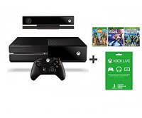 Игровая консоль Microsoft Xbox ONE 500 GB +Kinect+DC Spotlight+Zoo Tycoon+KSR