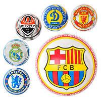 """Мяч резиновый футбольные клубы, размер 9"""", 4 вида (ОПТОМ) MS 0251"""