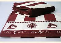 Пляжное махровое полотенце Ozdilek 100Х150 см Pusula
