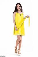 Шифоновое платье вечернее, женское, на девушку, весеннее, летнее, нарядное, размер 42, 44