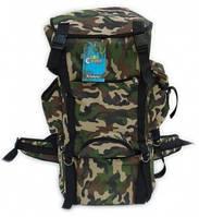 Рюкзак, вместимость 63л, устойчив к светловому и тепловому воздействию, лёгкая, дышащая, быстросохнущая ткань, фото 1