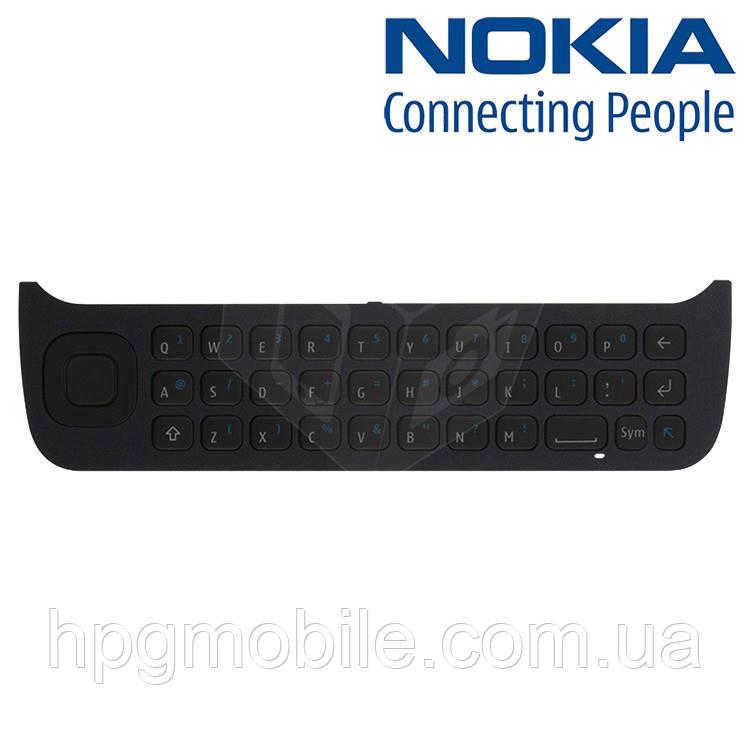 Клавиатура для Nokia N97, нижняя, оригинал (черная)