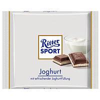 Молочный шоколад Ritter Sport Joghurt-с йогуртом