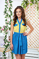"""Платье """"Микки"""" AR-4410 (желтый)"""