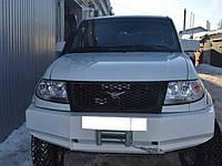Силовой бампер передний усиленный на УАЗ Patriot без кенгурина Вездеход 73