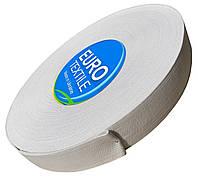 Резинки для одежды (30mm/40m) белый, тесьма эластичная полиэстер