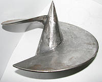 Литой наконечник для винтовых свай 57 х 120
