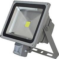 Светодиодный прожектор LED20W 1800Lm, 6000K с датчиком движения, Сокол